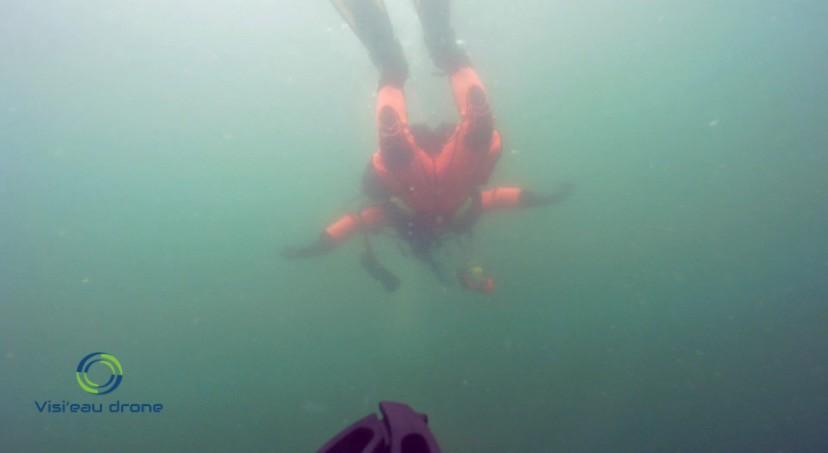 Recherche d'objets et de personne noyade lac rivière